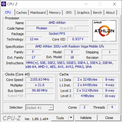 ACER SWIFT 3 Athlon 300U, Notebook Langka Idaman Kamu