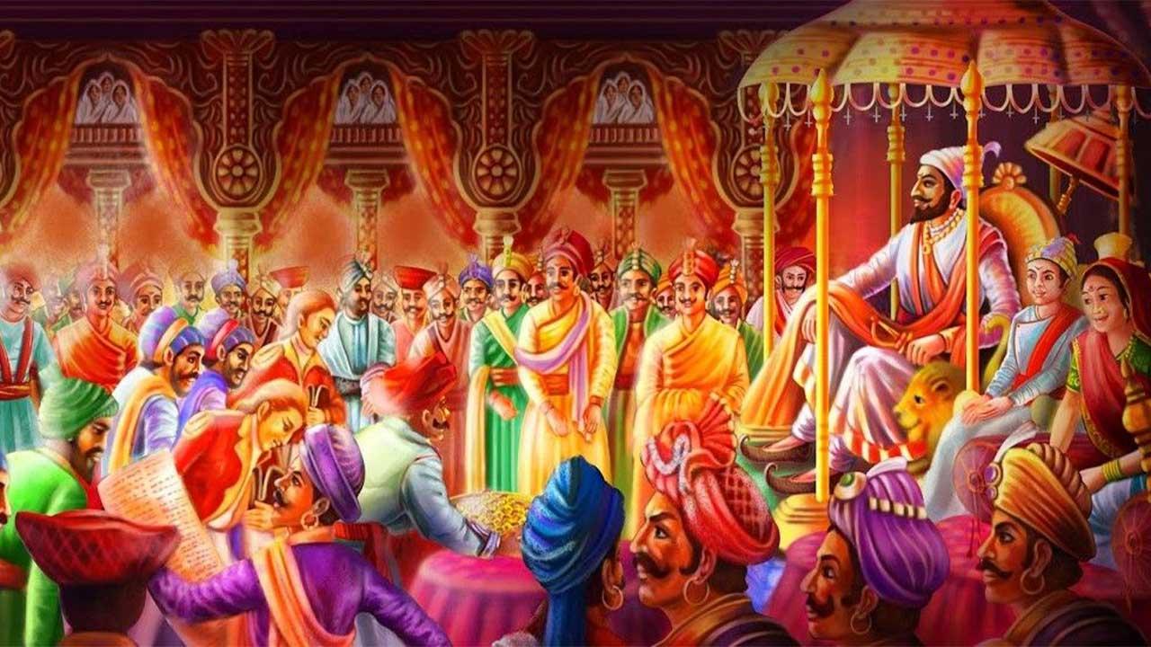 शिवराज्याभिषेक | Shivrajyabhishek Painting