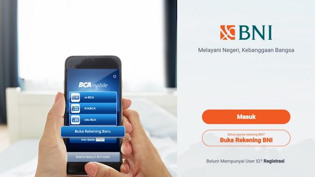 cara membuka rekening online