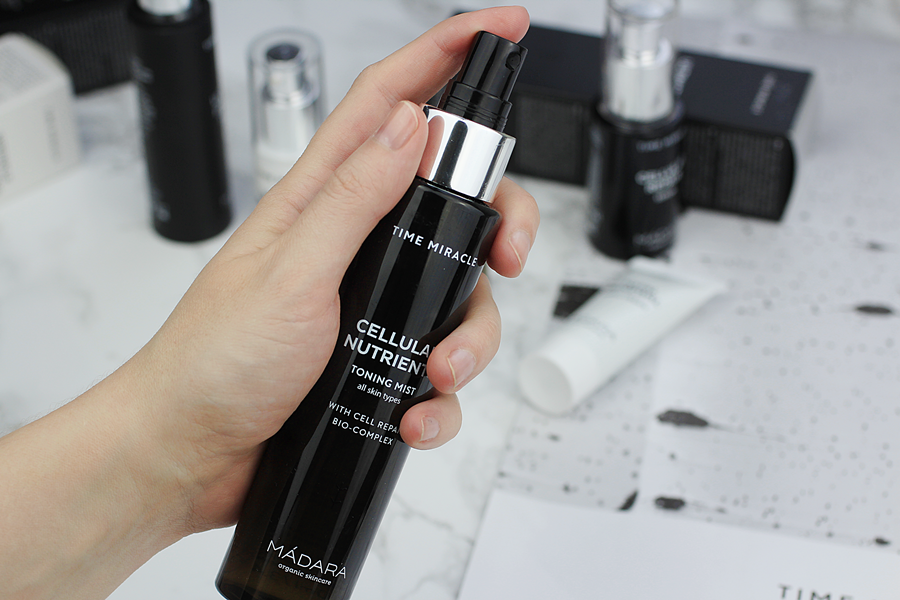 madara time miracle toning mist review