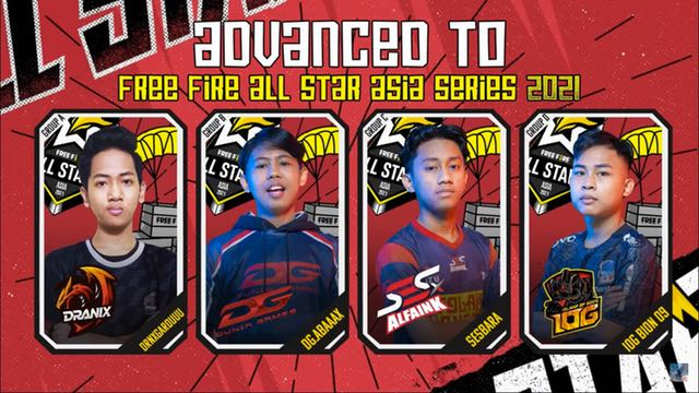 free fire invitational star match