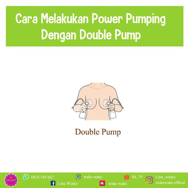 Cara Melakukan Power Pumping dengan Double Pump
