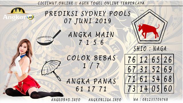 PREDIKSI SYDNEY POOLS 07 JUNI 2019