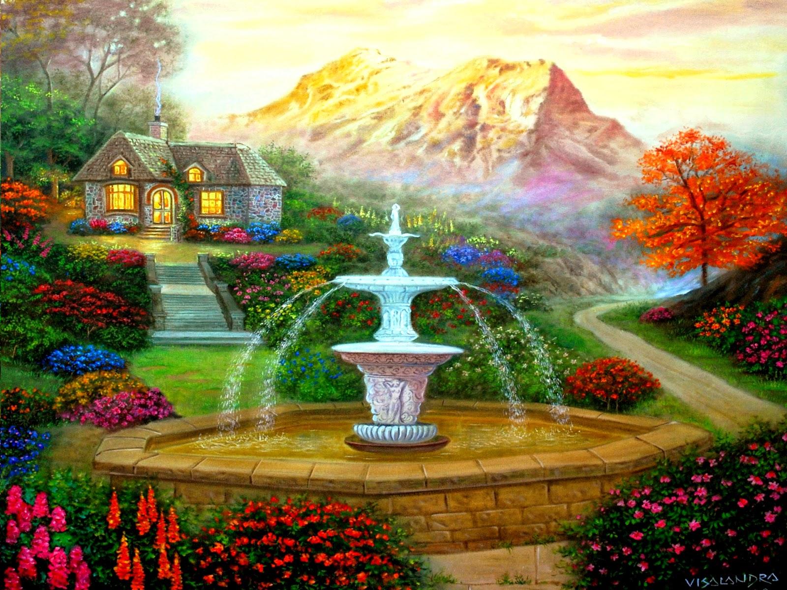 3D Garden HD Wallpapers