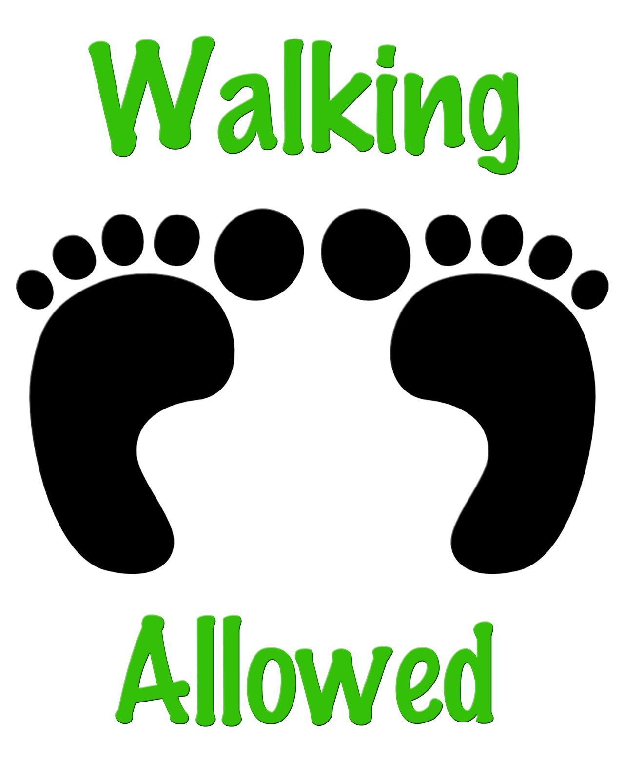 Donnykoopgraphicdesign Walking Signs