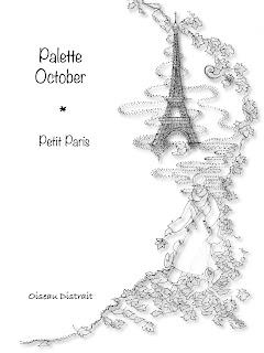 Book cover of Palette October of Petit Paris