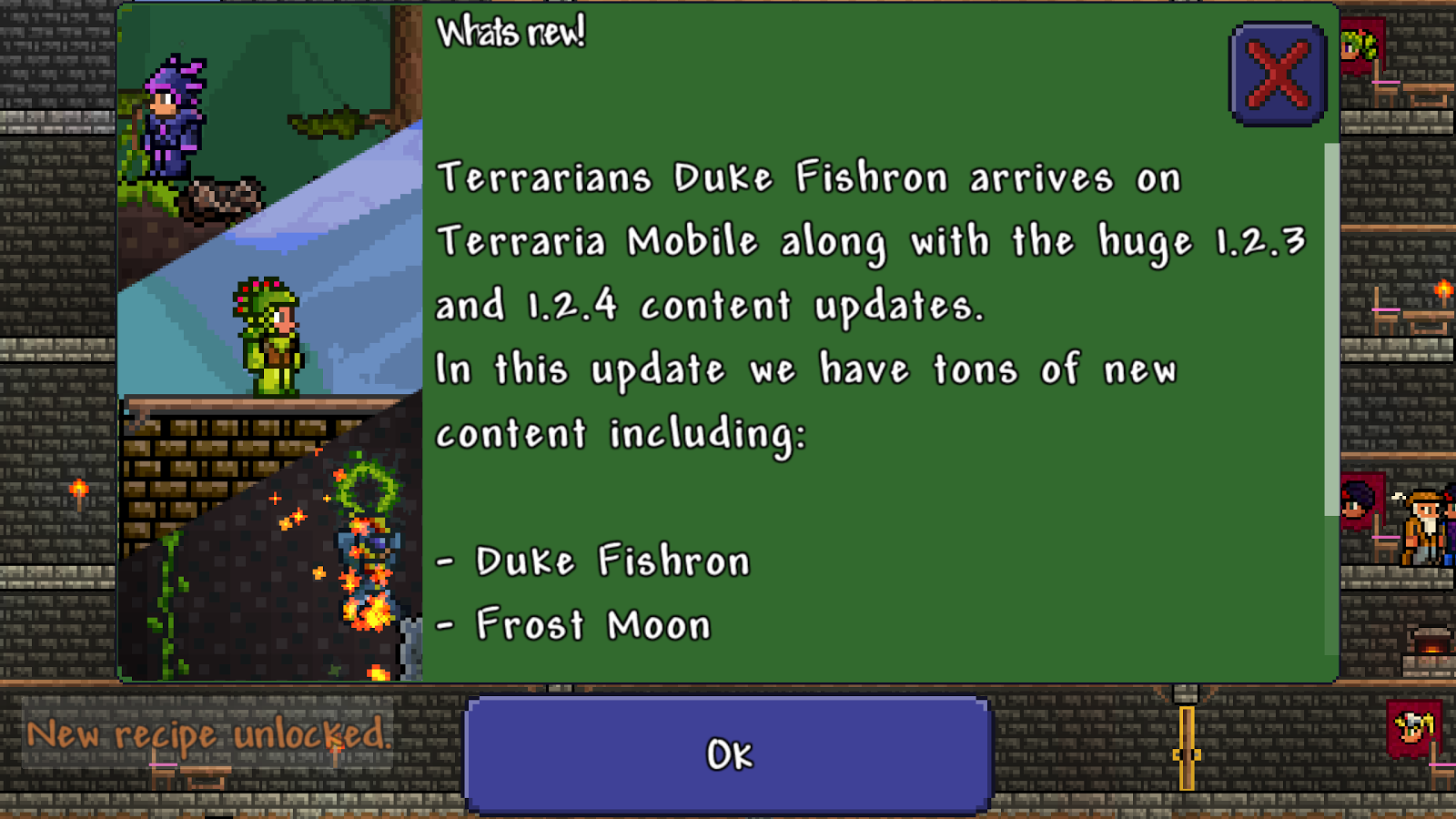 Terraria updates with fishing and more ~ Android Coliseum