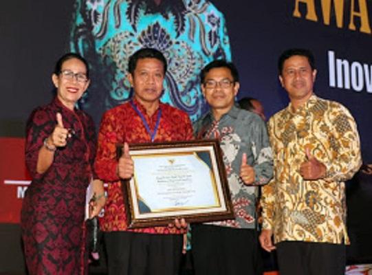Bali Terima Penghargaan Inovasi Pelayanan Publik Lewat Sipadu