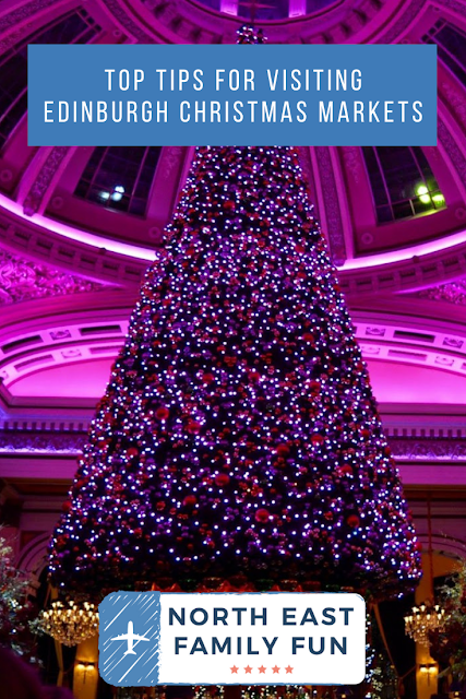 Top Tips for Visiting Edinburgh Christmas Markets