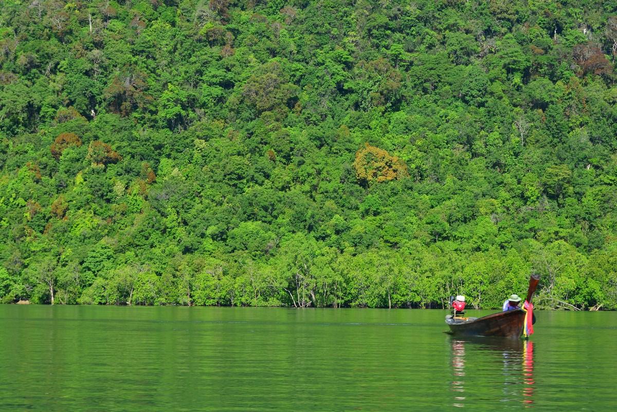 Sur la rivière Ko Pan Yi