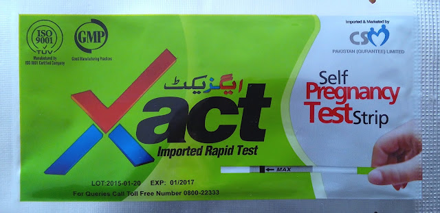 Xact HCG Urine Pregnancy Test Strip