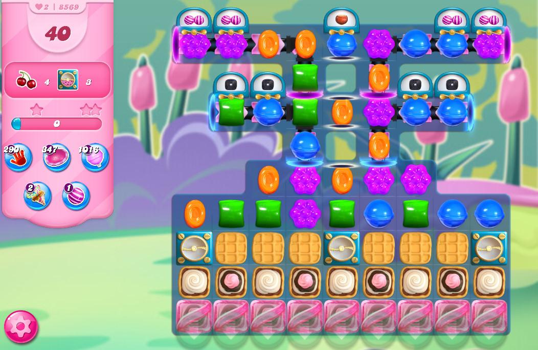 Candy Crush Saga level 8569