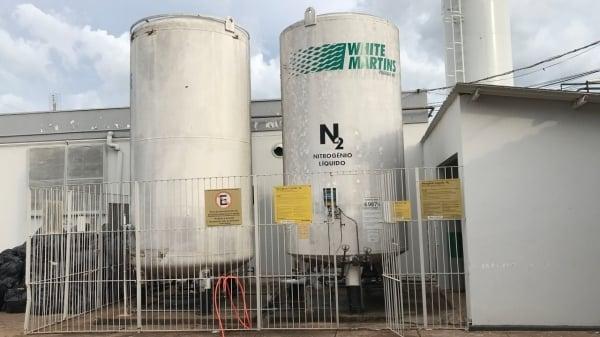 Santa Casa de Adamantina o hospital monitora oxigênio e relata dificuldade para comprar kit intubação