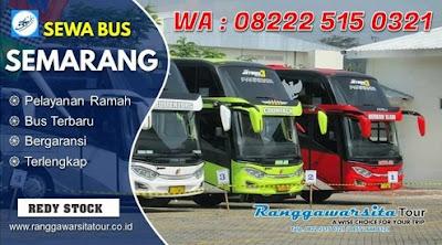 Informasi Sewa Bus Semarang Lengkap Terbaru