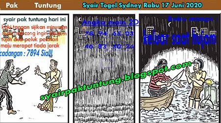 Prediksi Togel Sydney Rabu 17 Juni 2020 - Pak Tuntung