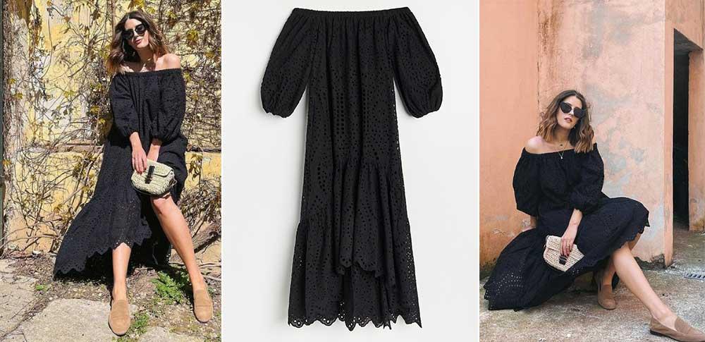 CRNA-HALJINA_OFF-SHOULDER-HALJINA_RESERVED_RUPIČASTA-HALJINA_moda_fashion_journal
