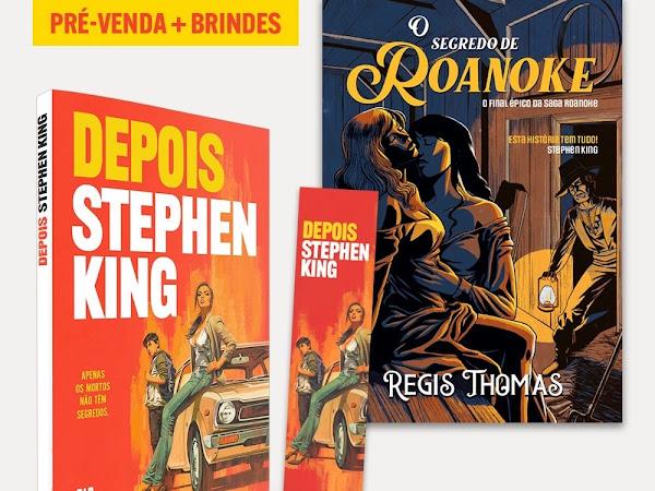 Depois, novo livro de Stephen King, em pré-venda especial com brindes