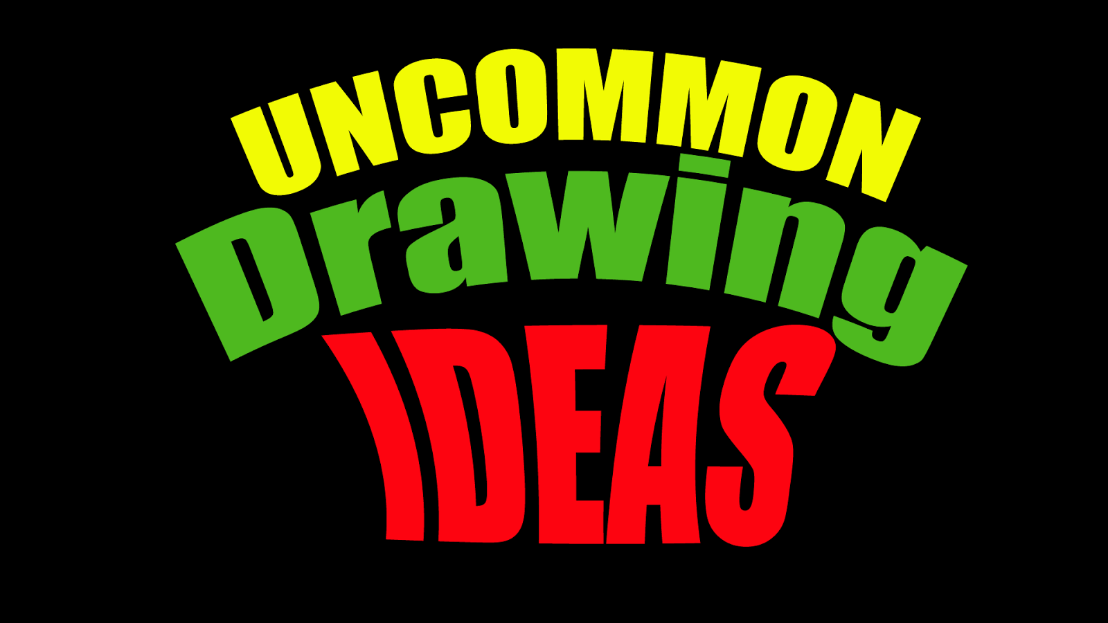 Drawing Ideas for Kids : 167 WEIRD drawing IDEAS Students ...