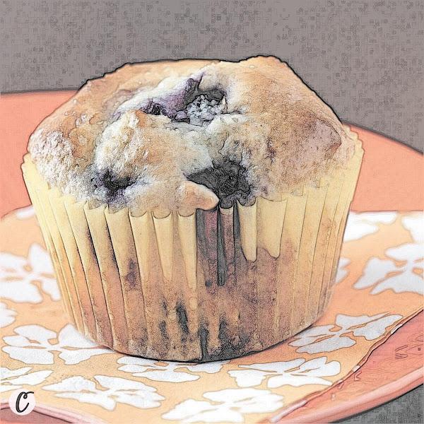 Lemon 🍋 Blueberry  Muffins