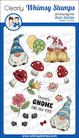 Gnomies Clear Stamps Set