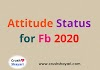 Status for fb About Attitude in Hindi 2020