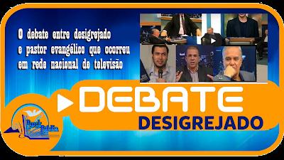 Debate entre desigrejado e pastor evangélico.