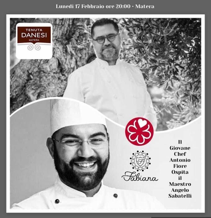 'La meglio Puglia a Matera'. Lo stellato Sabatelli ospite di chef Fiore per incantare la Basilicata