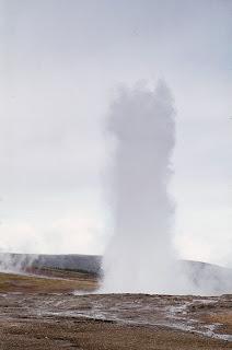 Geysir, Iceland 1977