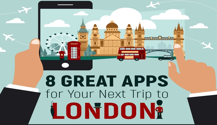 Best Apps for Eating & Drinking in London #Infographic