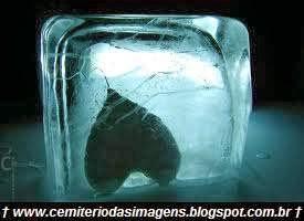 coração,gelado,frio,preto
