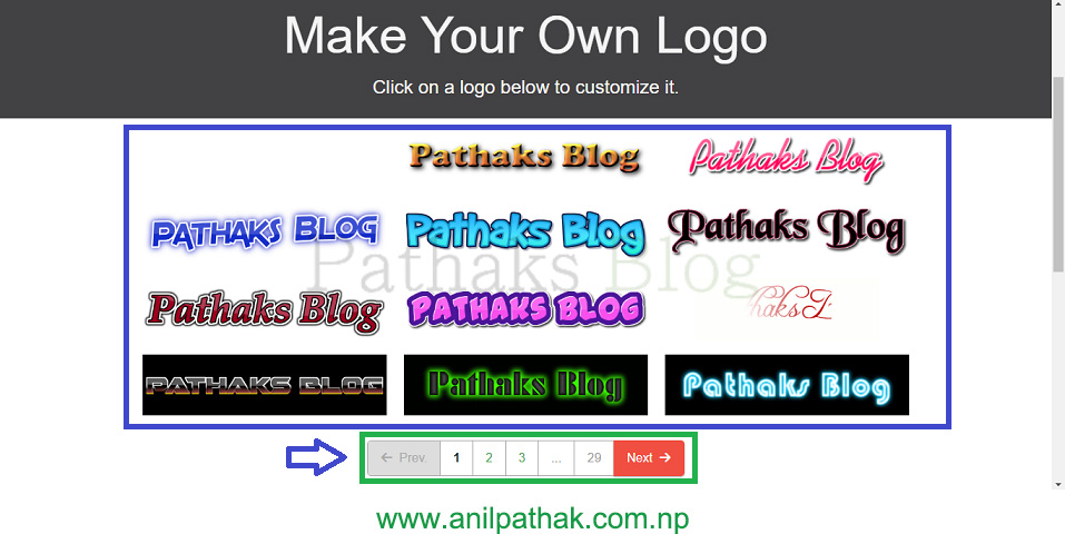 beautiful flaming text fonts on flamingtext.com, create logo from text, pathaks blog, anil pathak