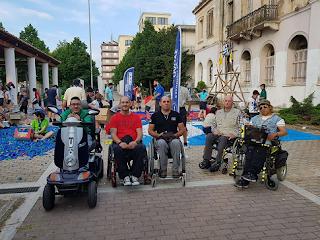 Παρουσίαση αμαξιδίου από το Σωματείο Παραπληγικών Ηλείας και το Σώμα Ελλήνων Προσκόπων Πύργου