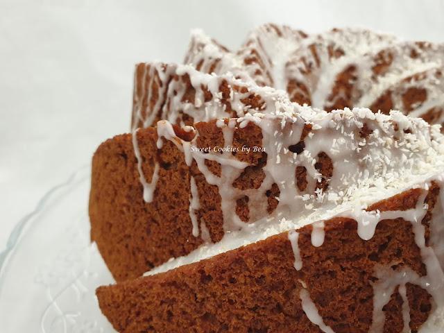 bundt cake de miel y coco