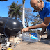 Insatisfeito com o aumento dos preços da Gasolina, Brasileiro cria moto que viaja 500km apenas com água