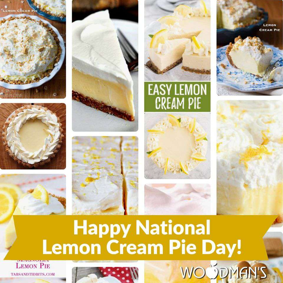 National Lemon Cream Pie Day Wishes Sweet Images