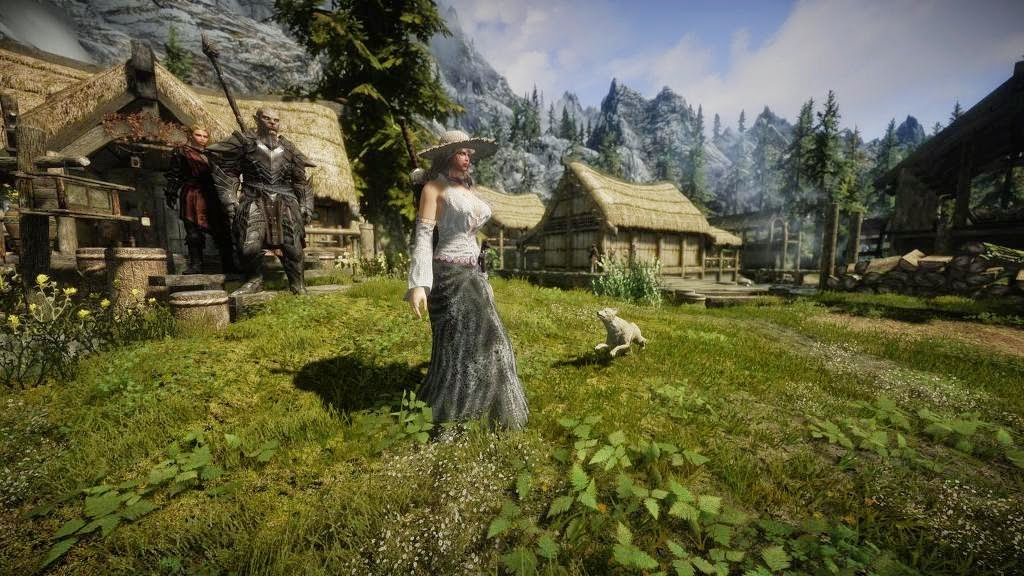 GGKTH: Awesome look moded Skyrim screenshots