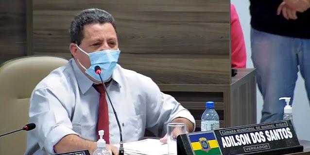 """Em sessão ordinária, vereador """"Ticão"""" defende os comerciantes de Manoel Ribas"""