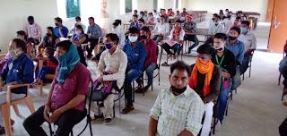 विश्वकर्मा श्रम सम्मान योजना के प्रशिक्षण के प्रथम बैच का समापन  #NayaSaveraNetwork
