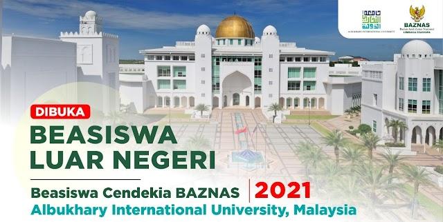 Beasiswa Cendekia BAZNAS untuk Sarjana di AlBukhary International University, Malaysia