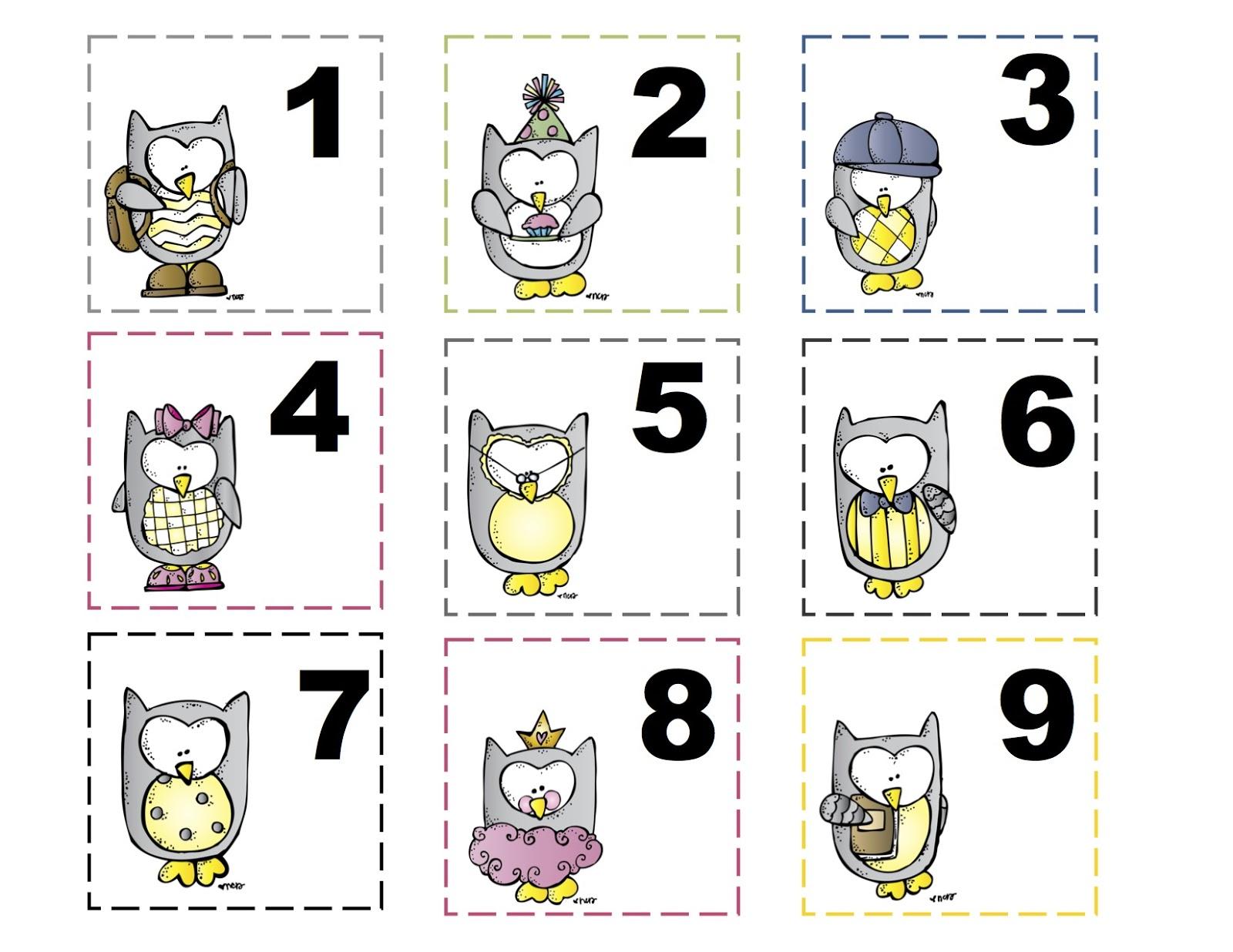 October Preschool Printables