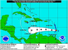 Huracán Matthew alcanza categoría 3 a su paso por el Caribe