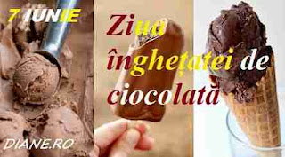 7 iunie: Ziua înghețatei de ciocolată