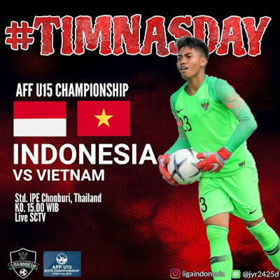 Live Streaming Indonesia vs Vietnam 9.8.2019 (AFFU15)