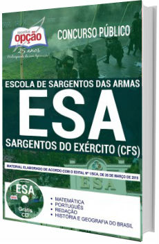 Apostila Concurso ESA 2018 Sargentos do Exército