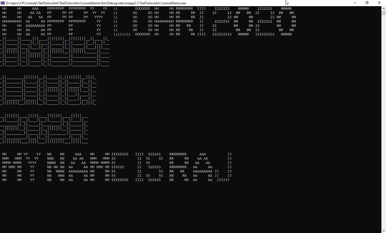 Art name ascii ASCII Art
