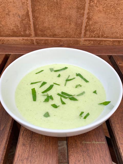 vegan melon soup