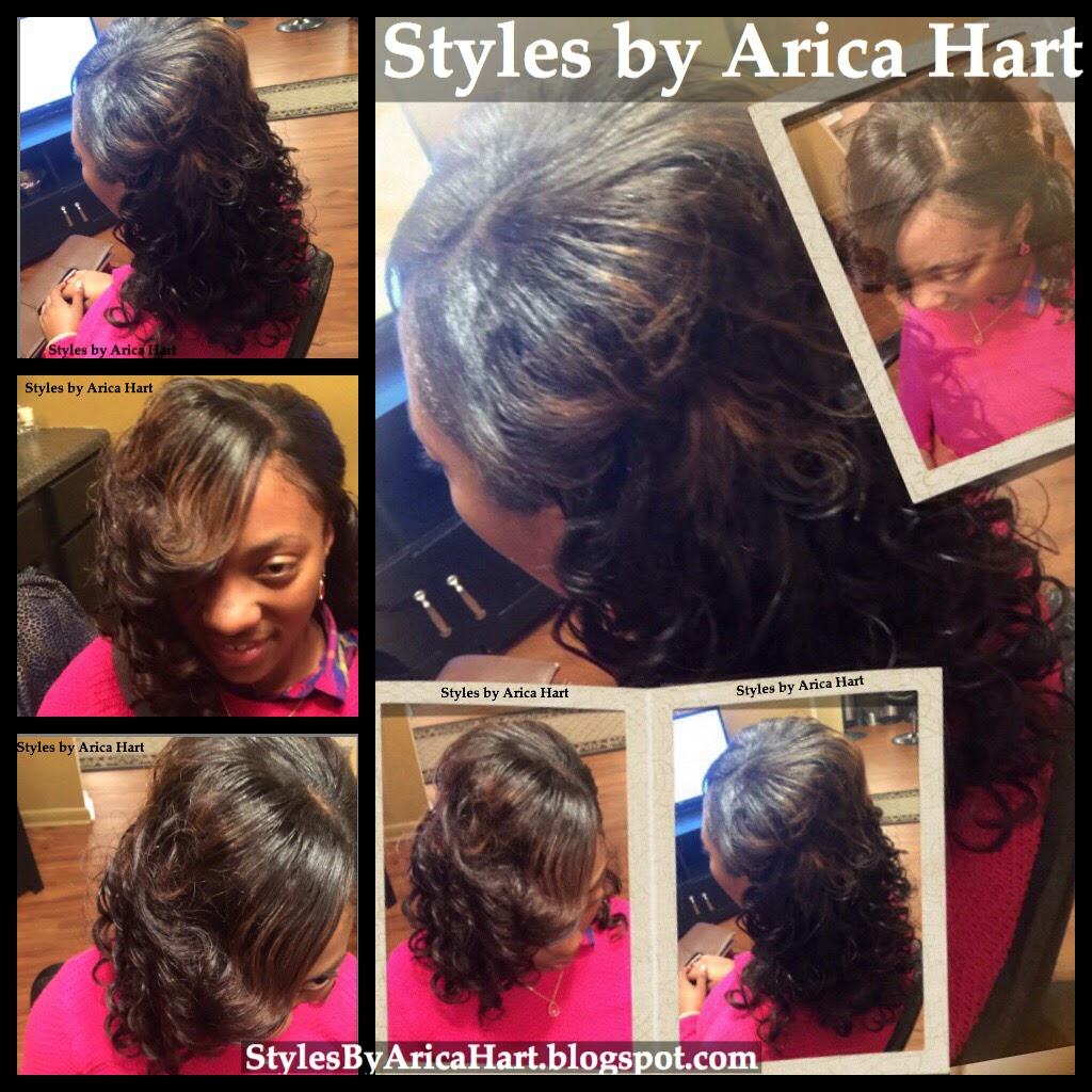 Sew In With Curls Hair Styles By Arica Hart