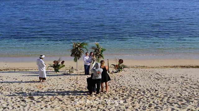 Wedding di Pantai Gunung Payung Bali