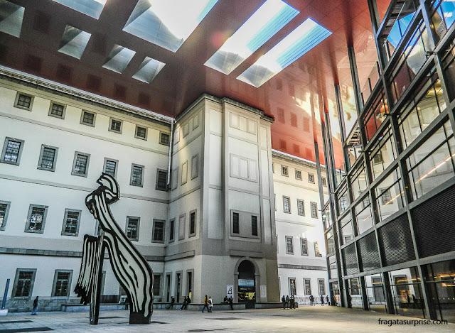 Centro de Artes Reina Sofia, Madri