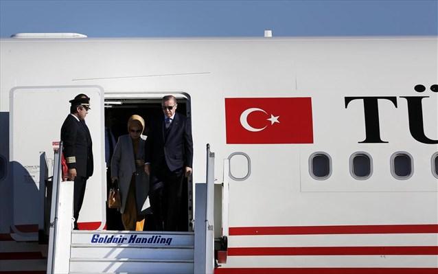 """Επίσκεψη Ερντογάν: Το ιπτάμενο """"παλάτι"""" του Τούρκου Προέδρου - ΦΩΤΟ"""